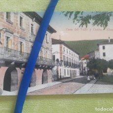 Postales: ELIZONDO - CASA DEL VALLE Y CASINO - EDICIÓN ANTONIO ECHAIDE Nº 12 - SIN CIRCULAR. Lote 273253773