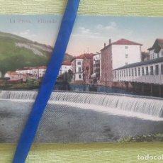 Postales: ELIZONDO - LA PRESA - EDICIÓN ANTONIO ECHAIDE Nº 11 - SIN CIRCULAR. Lote 273254853