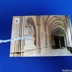 Postales: PAMPLONA CATEDRAL CLAUSTROS. Lote 275079298