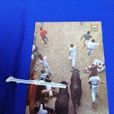 Postales: PAMPLONA FIESTAS DE SAN FERMIN EL ENCIERRO. Lote 275079773