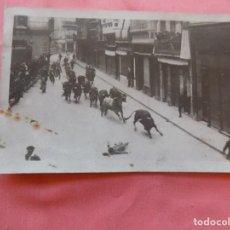 Postales: SAN FERMINES CURIOSA Y RARA POSTAL FOTOGRÁFICA. Lote 275785373