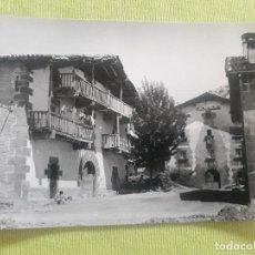 Postales: LECUMBERRI (NAVARRA) - CASONAS TÍPICAS DEL PAÍS. Lote 275842328