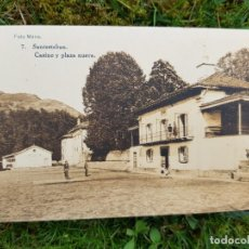 Postales: SANTESTEBAN 7 CASINO Y PLAZA NUEVA FOTO MENA HAUSER Y MENET. Lote 276644938