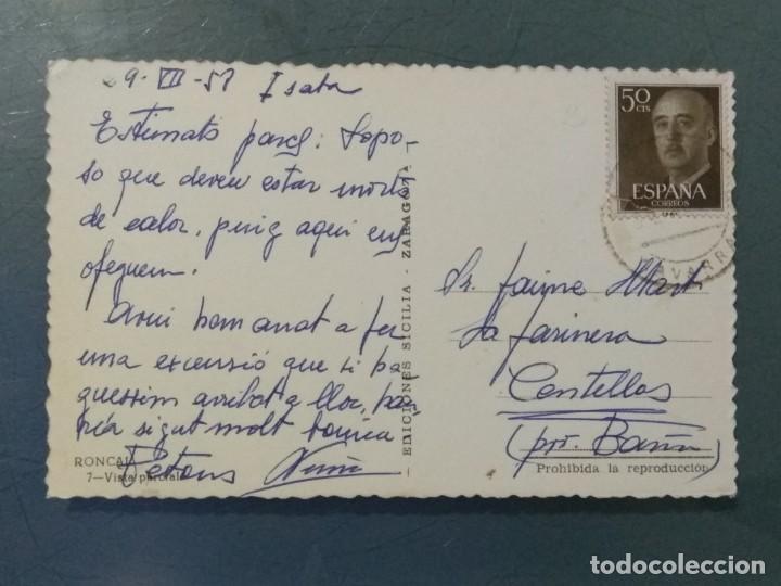 Postales: POSTAL 7 RONCAL - VISTA PARCIAL. - Foto 2 - 276744838