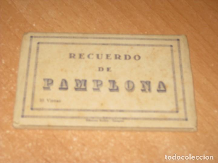 DESPLEGABLE DE POSTALES DE PAMPLONA (Postales - España - Navarra Antigua (hasta 1.939))