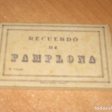 Postales: DESPLEGABLE DE POSTALES DE PAMPLONA. Lote 276790288