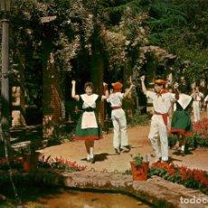 Postales: EM1076 PAMPLONA JARDINES DE TACONERA 1963 ESCUDO DE ORO Nº14 FOLKLORE. Lote 276987213