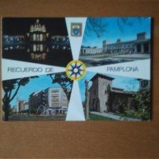 Postales: PAMPLONA (NAVARRA) - VARIOS (ESCRITA Y CIRCULADA). Lote 277023073