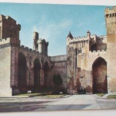 Postales: POSTAL CASTILLOS DE ESPAÑA. 64. DE OLITE NAVARRA.. Lote 277129023