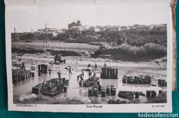 Postales: CINTRUÉNIGO POSTAL FOTOGRÁFICA BLOC RECUERDO NAVARRA ED. ARRIBAS 1950 - Foto 2 - 277142218
