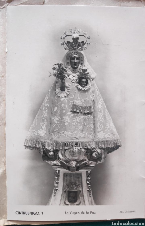 Postales: CINTRUÉNIGO POSTAL FOTOGRÁFICA BLOC RECUERDO NAVARRA ED. ARRIBAS 1950 - Foto 3 - 277142218