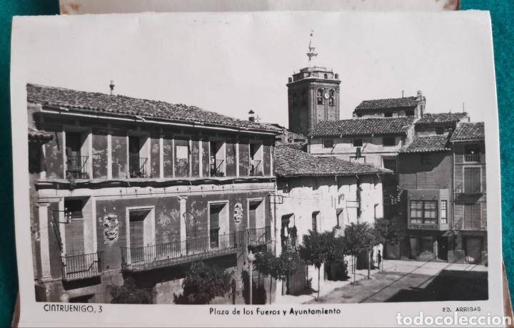 Postales: CINTRUÉNIGO POSTAL FOTOGRÁFICA BLOC RECUERDO NAVARRA ED. ARRIBAS 1950 - Foto 4 - 277142218
