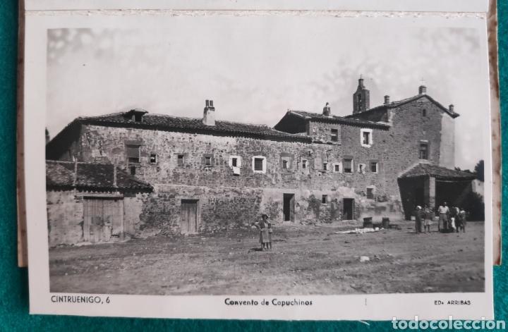 Postales: CINTRUÉNIGO POSTAL FOTOGRÁFICA BLOC RECUERDO NAVARRA ED. ARRIBAS 1950 - Foto 7 - 277142218