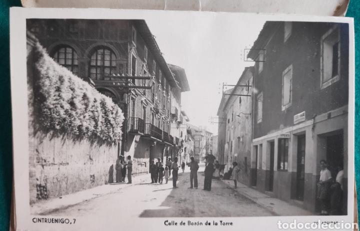 Postales: CINTRUÉNIGO POSTAL FOTOGRÁFICA BLOC RECUERDO NAVARRA ED. ARRIBAS 1950 - Foto 8 - 277142218