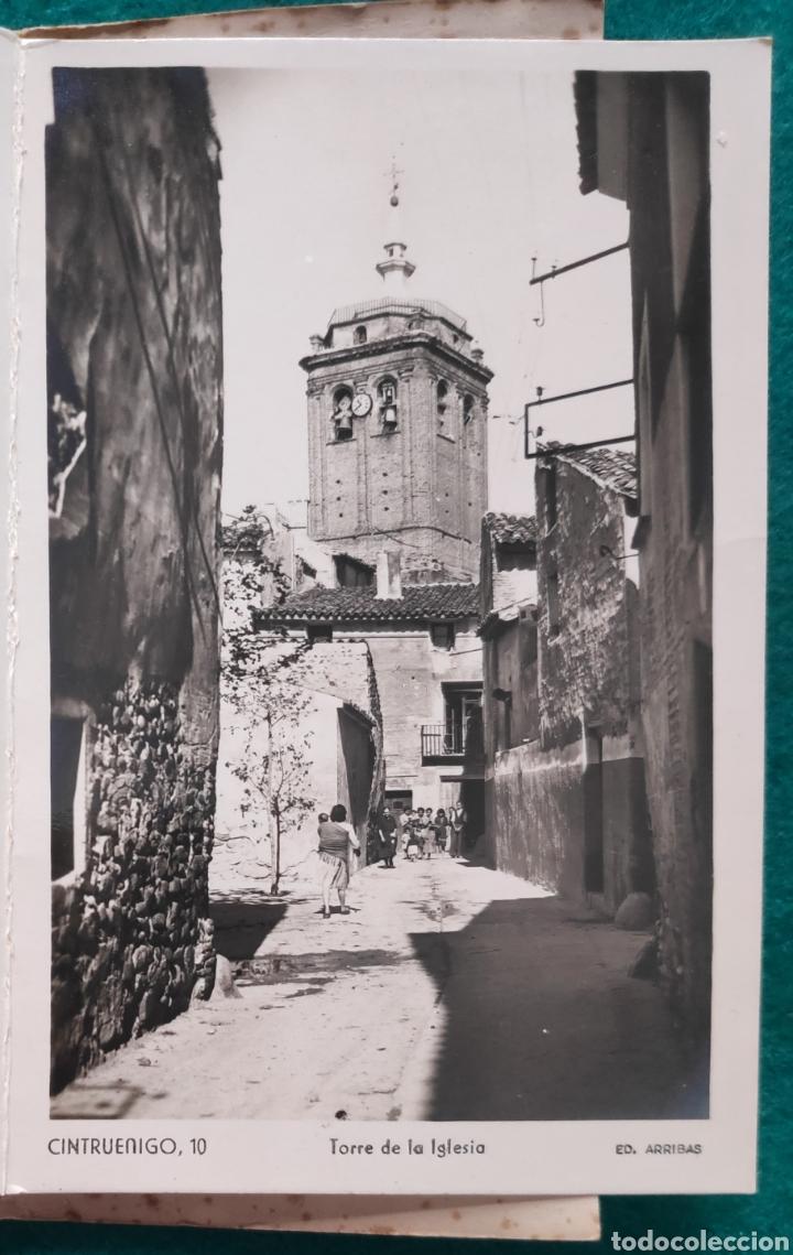 Postales: CINTRUÉNIGO POSTAL FOTOGRÁFICA BLOC RECUERDO NAVARRA ED. ARRIBAS 1950 - Foto 11 - 277142218