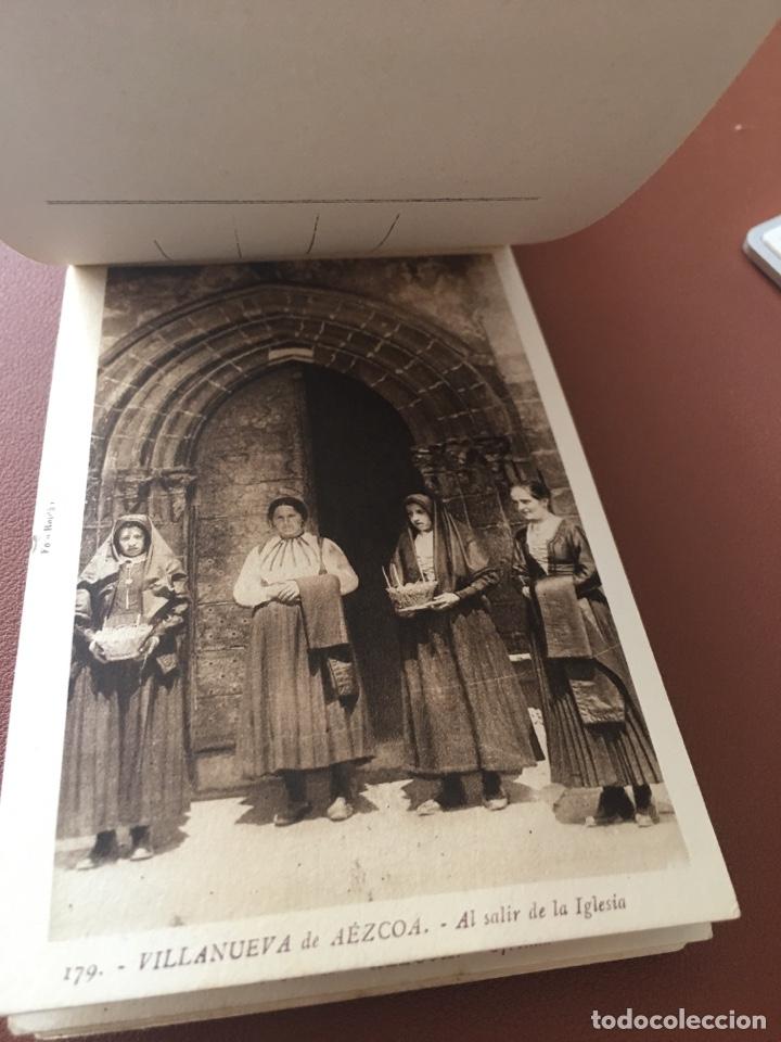 Postales: Navarra artística 9. Completo. Sin circular - Foto 3 - 277426083