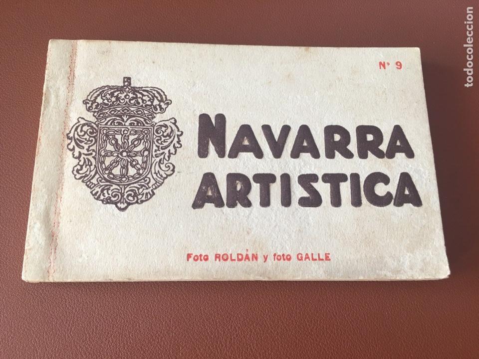 NAVARRA ARTÍSTICA 9. COMPLETO. SIN CIRCULAR (Postales - España - Navarra Antigua (hasta 1.939))