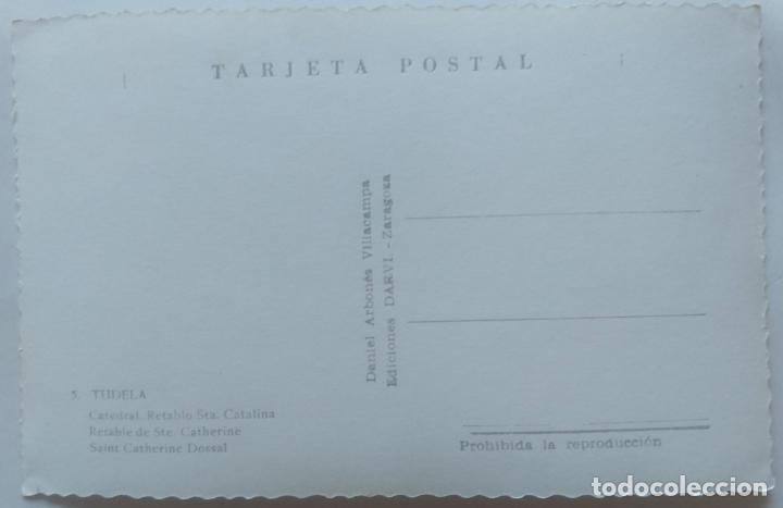 Postales: TUDELA CATEDRAL RETABLO SANTA CATALINA - Foto 2 - 277574183