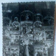 Postales: TUDELA CATEDRAL RETABLO SANTA CATALINA. Lote 277574183