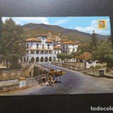 Postales: RONCAL NAVARRA VISTA PARCIAL CON EL AYUNTAMIENTO. Lote 277656348