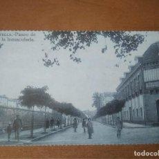 Postales: ESTELLA (NAVARRA) - PASEO DE LA INMACULADA (COLECC. EDITADA POR CAJA NAVARRA/DIARIO DE NOTICIAS). Lote 278184633