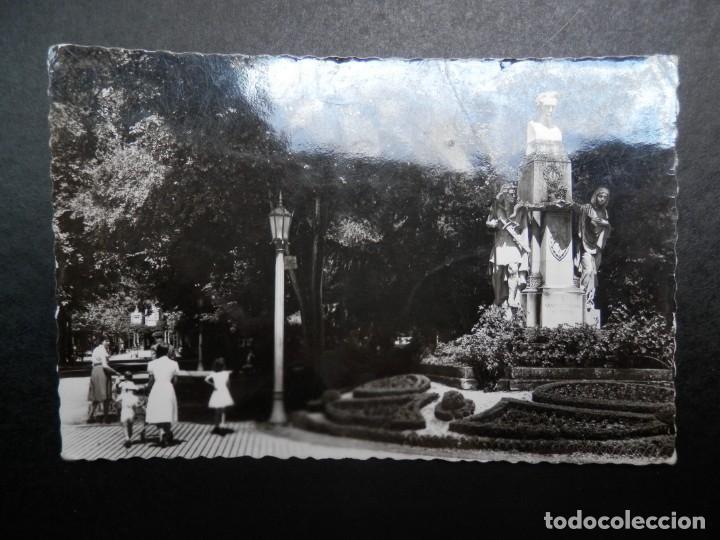 PAMPLONA NAVARRA MONUMENTO A NAVARRO VILLOSLADA POSTAL ANTIGUA EDICIONES GARCÍA GARRABELLA (Postales - España - Navarra Antigua (hasta 1.939))