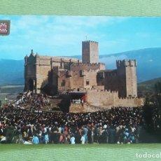 Postales: CASTILLO DE XABIER - XAVIERADA - AÑO 1992. Lote 278446813