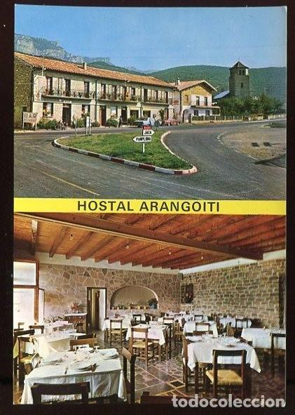 EM1561 YESA HOSTAL ARANGOITI 1969 ED SICILIA (Postales - España - Navarra Moderna (desde 1.940))