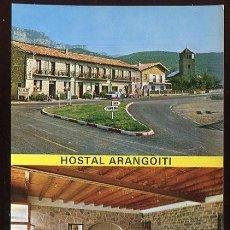 Postales: EM1561 YESA HOSTAL ARANGOITI 1969 ED SICILIA. Lote 278549443