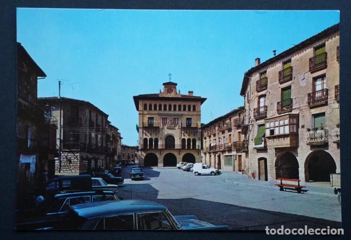 OLITE (NAVARRA) PLAZA DEL AYUNTAMIENTO, ANTIGUA POSTAL SIN CIRCULAR (Postales - España - Navarra Moderna (desde 1.940))
