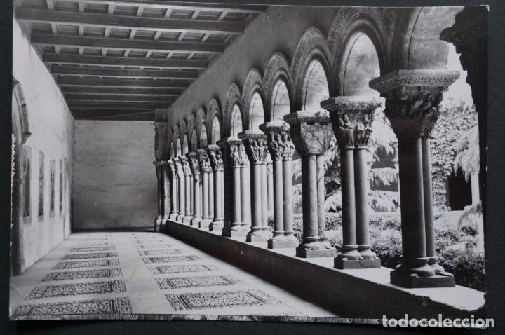 TUDELA, CLAUSTRO DE LA CATEDRAL, POSTAL CIRCULADA CON SELLO DEL AÑO 1967 (Postales - España - Navarra Moderna (desde 1.940))