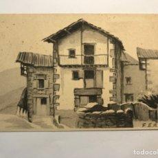 Postales: LECAROZ, BAZTAN (NAVARRA) POSTAL SERIE III, NO.9, GRAFICAS LABORDE Y LABAYEN (H.1940?) S/C. Lote 278839173