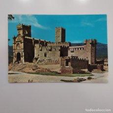 Postales: POSTAL CASTILLO DE SAN JAVIER. VISTA DEL CASTILLO Y BASILICA (NAVARRA) ESCRITA 1964. Nº 693 SICILIA. Lote 279418853
