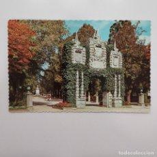 Postales: POSTAL PAMPLONA. JARDINES DE LA TACONERA. SAN NICOLAS (NAVARRA) CIRCULADA 1964. Nº 2 GARRABELLA. Lote 279422248