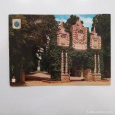 Postales: POSTAL PAMPLONA. JARDINES DE LA TACONERA (NAVARRA) CIRCULADA 1968. Nº 12 DOMINGUEZ. NIÑA. Lote 279425493