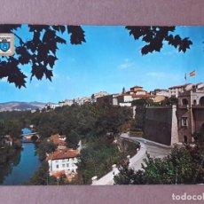 Postales: POSTAL 2 DOMÍNGUEZ. RÍO ARGA. PORTAL NUEVO. PAMPLONA. NAVARRA. 1963. CIRCULADA.. Lote 279439653