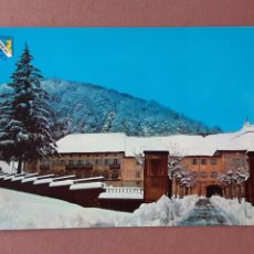 Postales: POSTAL 7 SAN-PI. PAISAJE NEVADO DE RONCESVALLES. BURGUETE. NAVARRA. 1972. SIN CIRCULAR.. Lote 279444808