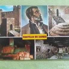 Postales: CASTILLO DE XABIER - Nº 40 - DIVERSOS ASPECTOS - ESCUDO DE ORO. Lote 279594693
