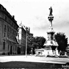 Postales: PAMPLONA - 3 - MONUMENTO A LOS FUEROS Y PASEO DE SARASATE - EDICIONES SICILIA. Lote 281814553