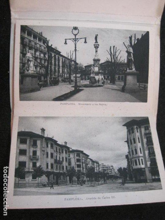 Postales: PAMPLONA-BLOC CON 15 POSTALES ANTIGUAS-VER FOTOS-(83.651) - Foto 6 - 286531288
