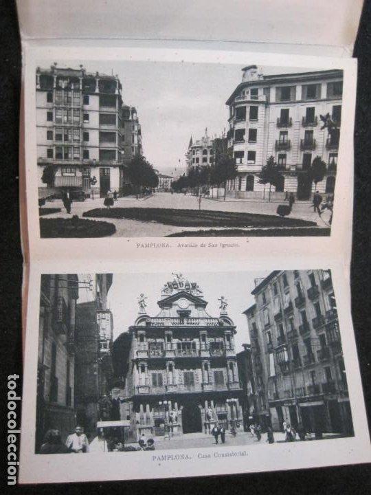 Postales: PAMPLONA-BLOC CON 15 POSTALES ANTIGUAS-VER FOTOS-(83.651) - Foto 7 - 286531288