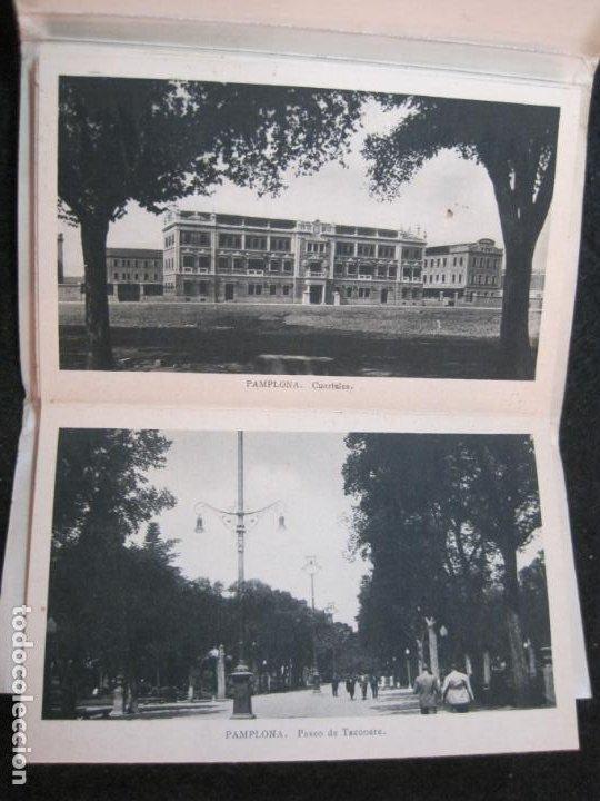 Postales: PAMPLONA-BLOC CON 15 POSTALES ANTIGUAS-VER FOTOS-(83.651) - Foto 9 - 286531288