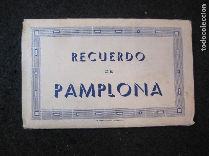 PAMPLONA-BLOC CON 15 POSTALES ANTIGUAS-VER FOTOS-(83.651) (Postales - España - Navarra Antigua (hasta 1.939))