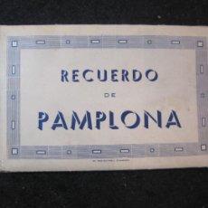 Postales: PAMPLONA-BLOC CON 15 POSTALES ANTIGUAS-VER FOTOS-(83.651). Lote 286531288