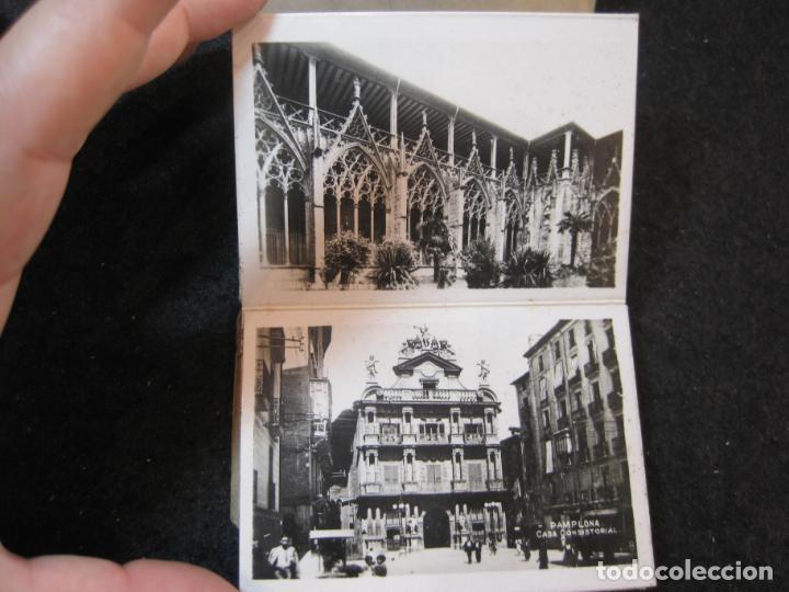 Postales: PAMPLONA-MINI BLOC CON 20 VISTAS ANTIGUAS-VER FOTOS-(K-4082) - Foto 6 - 286533048