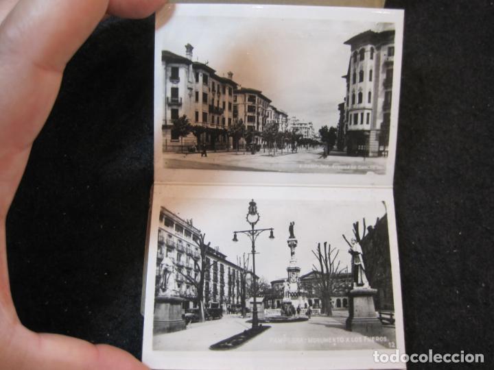 Postales: PAMPLONA-MINI BLOC CON 20 VISTAS ANTIGUAS-VER FOTOS-(K-4082) - Foto 8 - 286533048