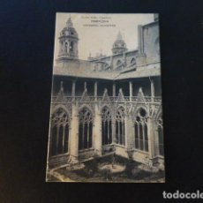 Postales: PAMPLONA CATEDRAL CLAUSTRO. Lote 286977448