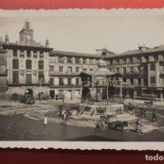 Postales: POSTAL TUDELA, PLAZA DE LOS FUEROS, DAURI. Lote 287602503