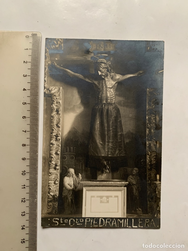 POSTAL. SANTISIMO CRISTO DE PIEDRAMILLERA. NAVARRA. EDICIONES?. (Postales - España - Navarra Antigua (hasta 1.939))