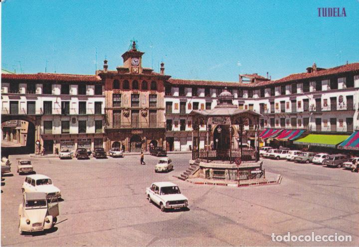 TUDELA, PLAZA DE LOS FUEROS. KIOSCO - EDICIONES PARIS 114 - SIN CIRCULAR (Postales - España - Navarra Moderna (desde 1.940))